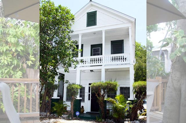 This home has seen over 100 years of Key West history. Steps to Duval Street.